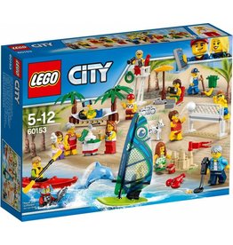 LEGO LEGO City 60153 - Plezier in het strand Personenset
