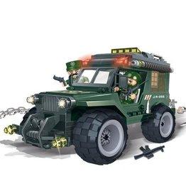 BanBao 8255 - Leger Jeep
