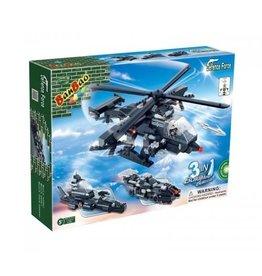 BanBao BanBao 8488 - Leger helikopter 3 in 1
