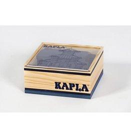 Kapla Kapla 40 donkerblauwe plankjes in kistje