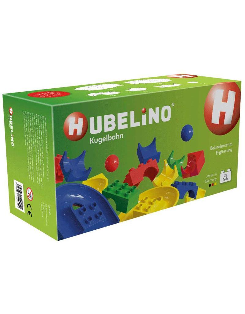Hubelino Hubelino Knikkerbaan Uitbreidingsset 33 delig