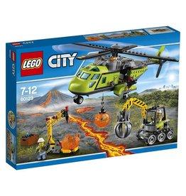 LEGO LEGO City 60123 - Vulkaan Bevoorradingshelikopter