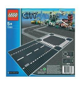 LEGO LEGO City 7280 - Rechte wegenplaten en kruising