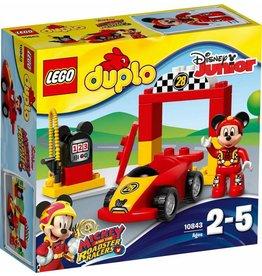 LEGO DUPLO  LEGO DUPLO 10843 - Mickeys racewagen