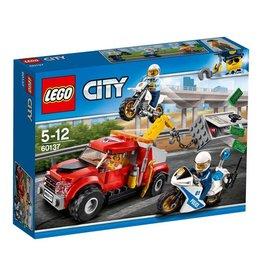 LEGO LEGO City 60137 - Sleeptruck Probleem