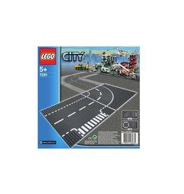 LEGO LEGO City 7281 - T-kruising en bocht