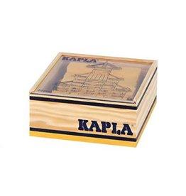Kapla Kapla 40 gele plankjes in kistje