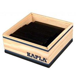 Kapla Kapla 40 zwarte plankjes in kistje