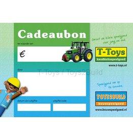 Cadeaubon t.w.v. €12,50