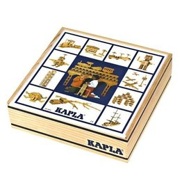Kapla Kapla 100 blanke plankjes in kist