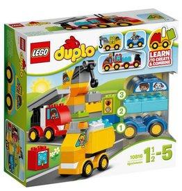 LEGO DUPLO  LEGO DUPLO 10816 - Mijn Eerste Wagens en Trucks