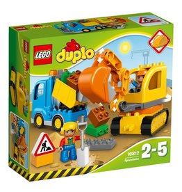 LEGO DUPLO  LEGO DUPLO 10812 - Rupsband Graafmachine