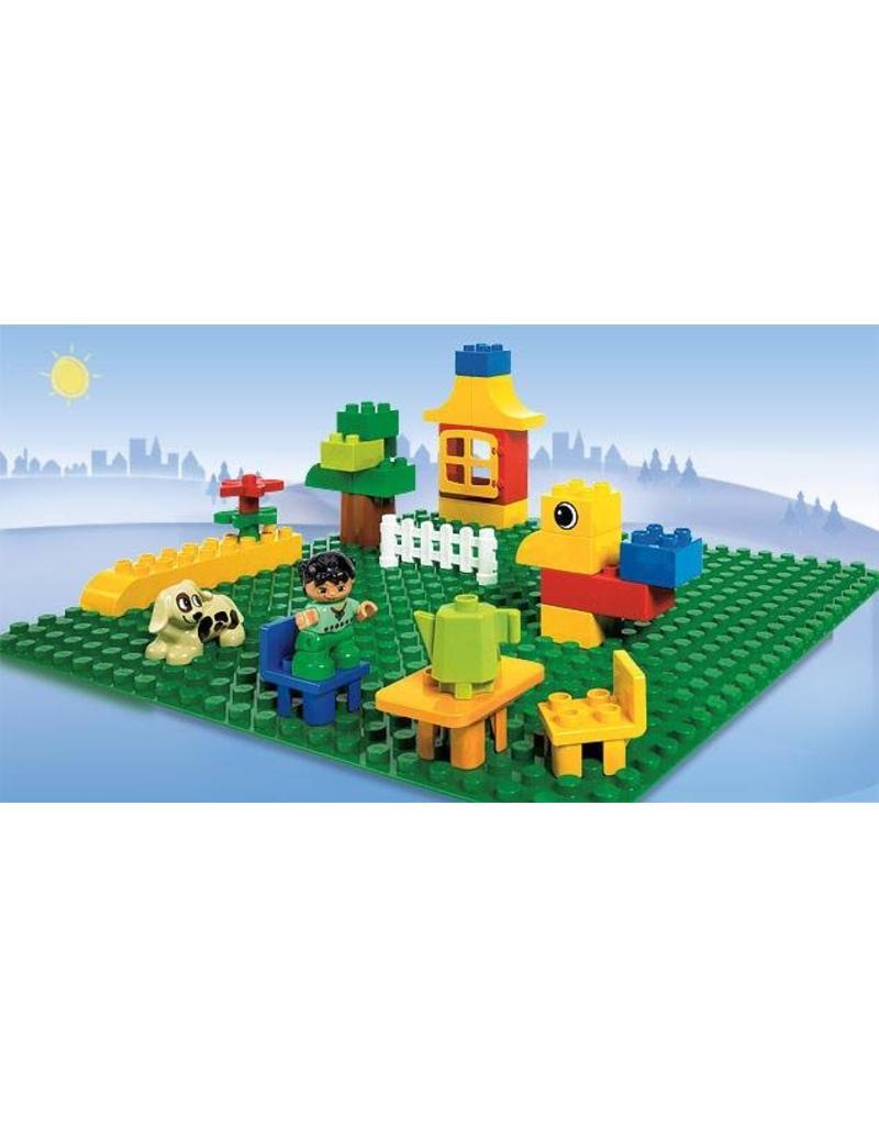 LEGO DUPLO  LEGO Duplo 2304 - Grote groene bouwplaat