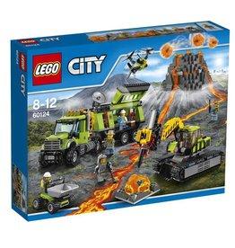 LEGO LEGO City 60124 - Vulkaan Onderzoeksbasis