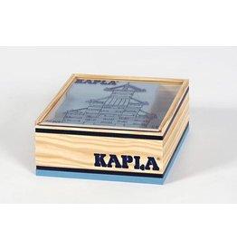 Kapla Kapla 40 lichtblauwe plankjes in kistje