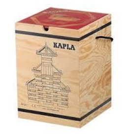 Kapla Kapla 280 blanke plankjes in kist met boek