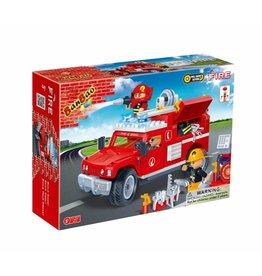 BanBao 8316 - Brandweer Jeep