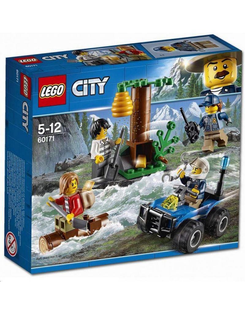 LEGO LEGO City 60171 - Achtervolging door de bergen