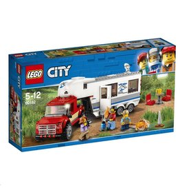 LEGO LEGO City 60182 - Pick-up Truck en Caravan
