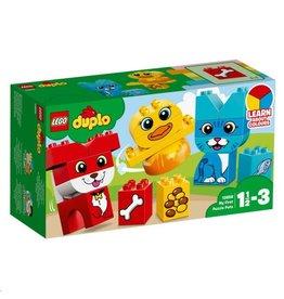 LEGO DUPLO  LEGO DUPLO 10858 - Mijn Eerste Puzzeldieren