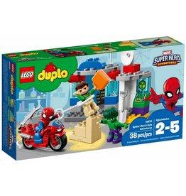 LEGO DUPLO  LEGO DUPLO 10876 - Spiderman en Hulk Avonturen