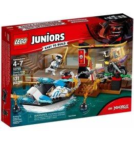 LEGO LEGO Juniors 10755 - Zane's Ninjaboot Achtervolging