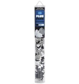 Plus-Plus Plus-Plus 2314 - Mini Basic Buis Grijsschaal