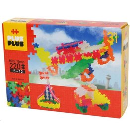 Plus-Plus Plus-Plus 3711 - Mini Neon 3-in-1 220 stukjes