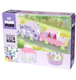 Plus-Plus Plus-Plus 3712 - Mini Pastel 3-in-1 220 stukjes
