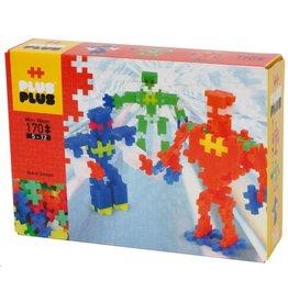 Plus-Plus Plus-Plus 3726 - Mini Neon Robots