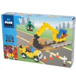 Plus-Plus Plus-Plus 3728 - Mini Basic Wegwerkers 360 stukjes