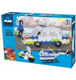 Plus-Plus Plus-Plus 3770 - Mini Basic Politie 3-in-1 480 stukjes