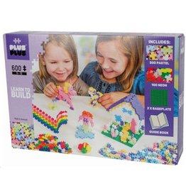 Plus-Plus Plus-Plus 5009 - Mini Pastel Starterset 600 stukjes