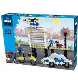 Plus-Plus Plus-Plus 3762 - Mini Basic Politie 3-in-1 760 stukjes