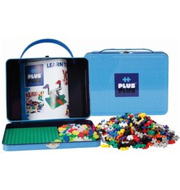 Plus-Plus Plus-Plus 7002 - Mini Basic Reiskoffer 600 stukjes