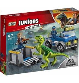 LEGO LEGO Juniors 10757 - Jurassic World Raptor Reddingsauto
