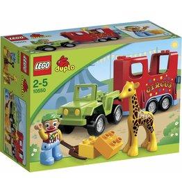 LEGO DUPLO  LEGO DUPLO 10550 - Circustransport