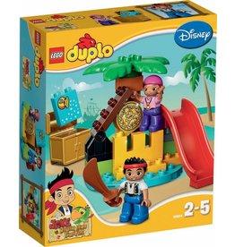 LEGO DUPLO  LEGO DUPLO 10604 - Jake en de Nooitgedachtland Piratenschat