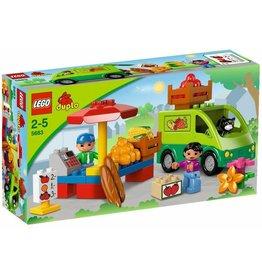 LEGO DUPLO  LEGO DUPLO 5683 - Marktkraam