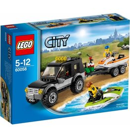 LEGO LEGO City 60058 - SUV met waterscooters