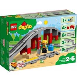 LEGO DUPLO  LEGO DUPLO 10872 - Treinbrug en rails