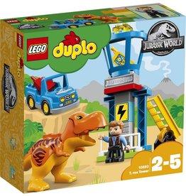LEGO DUPLO  LEGO DUPLO 10880 - Jurassic World T-Rex Toren