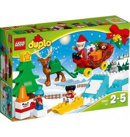 LEGO DUPLO  LEGO DUPLO 10837 - Wintervakantie van de Kerstman
