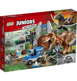 LEGO LEGO Juniors 10758 - Jurassic World T-Rex Ontsnapping