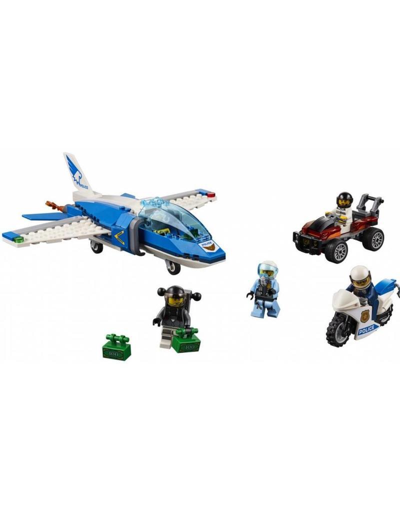 LEGO LEGO City 60208 - Luchtpolitie Parachute-arrestatie