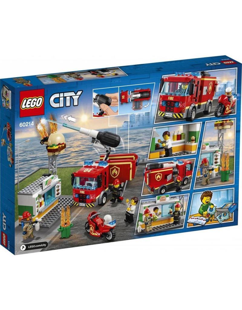 LEGO LEGO City 60214 - Brand bij het Hamburgerrestaurant