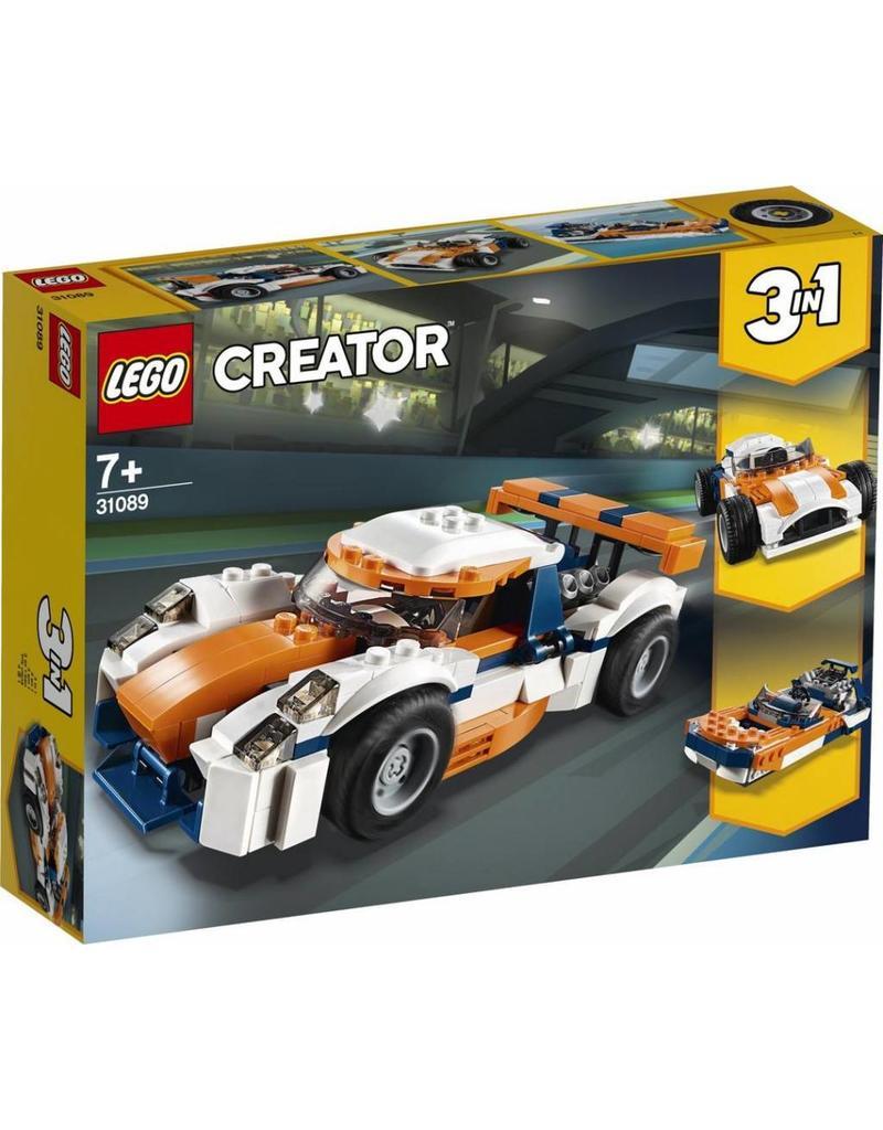 LEGO LEGO Creator 31089 - Zonsondergang Baanracer