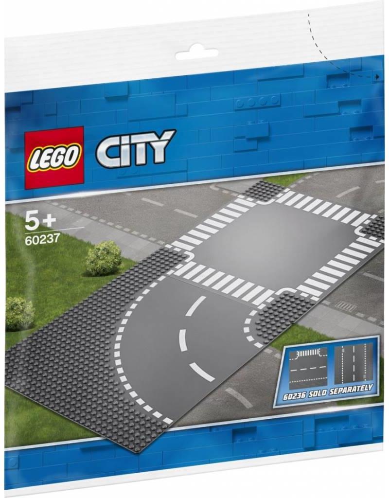LEGO LEGO City 60237 - Bocht en Kruising