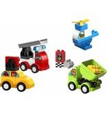 LEGO DUPLO  LEGO DUPLO 10886 - Mijn Eerste Auto Creaties