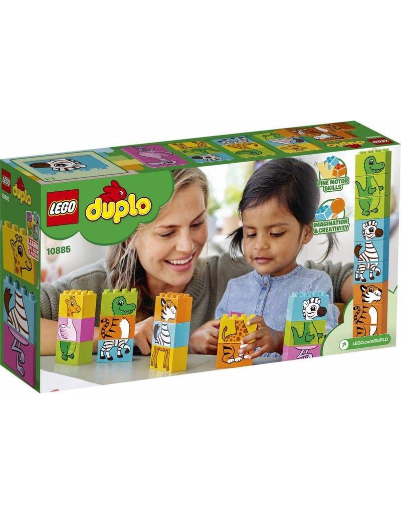 LEGO DUPLO  LEGO DUPLO 10885 - Mijn Eerste Leuke Puzzel